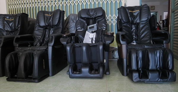 Kinh nghiệm chọn mua ghế massage secondhand