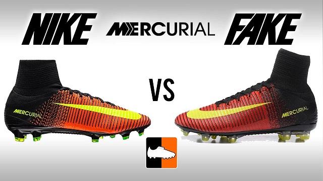 Hiểu về giày đá bóng Nike Mercurial chính hãng và fake